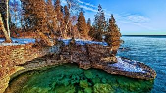Nature lake michigan wallpaper