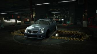 Need for speed cadillac cts garage nfs wallpaper