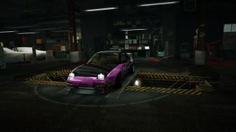 Nissan 240sx world zero s13 garage nfs wallpaper