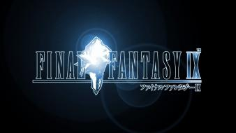 Rpg final fantasy ix logos square enix wallpaper