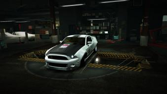 Shelby world super snake gt500 garage nfs wallpaper