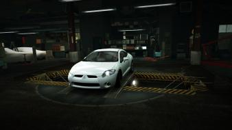 Speed mitsubishi eclipse world gt garage nfs wallpaper