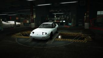 Speed nissan 240sx world s13 garage nfs wallpaper