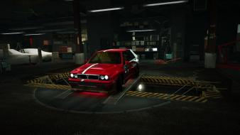 Speed rally lancia delta world garage nfs Wallpaper
