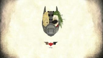 The joker scarecrow bane batman dark knight wallpaper