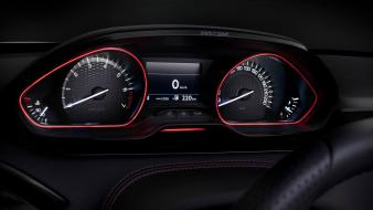 Tuning dashboards sports peugeot 208 gti racing wallpaper