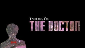 Typography eleventh doctor who wallpaper