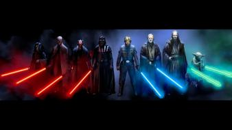 Vader sith jedi luke skywalker light sabers wallpaper