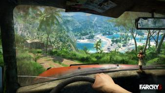 Video games fps dolls driving far cry 3 Wallpaper