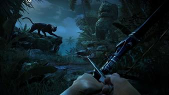 Video games panthers fps bows far cry 3 wallpaper