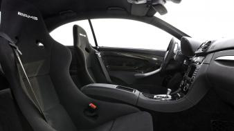 Amg interior black series clk Wallpaper