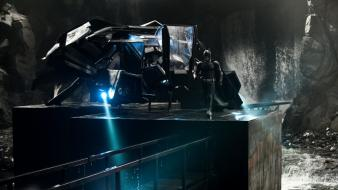 Batman batcave the dark knight rises bat wallpaper