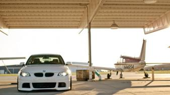 Bmw aircraft cars wallpaper