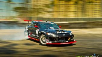 Cars drifting mazda rx-8 Wallpaper