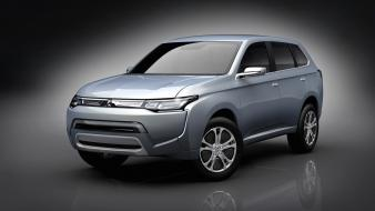 Cars mitsubishi concept art wallpaper