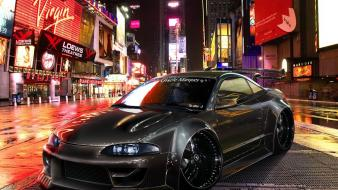 Cars tuning 3d mitsubishi eclipse Wallpaper