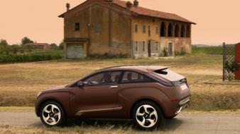 Cars xray lada concept art russian Wallpaper