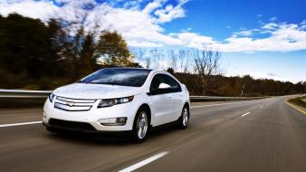 Chevrolet hybrid volt electric car general motors wallpaper