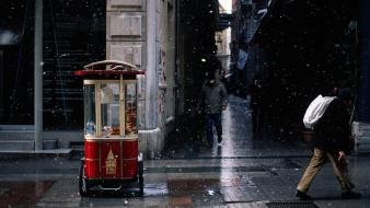 Cityscapes streets urban istanbul life avenue wallpaper