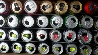 Energy drink aluminum wallpaper