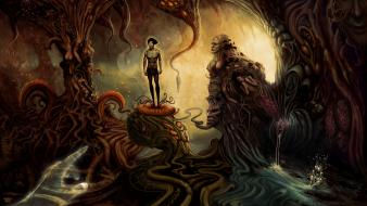 Fantasy art surreal Wallpaper