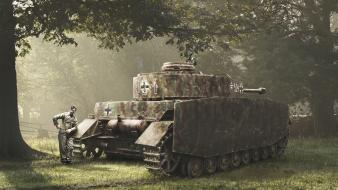 Ii wehrmacht digital art waiting pzkpfw iv wallpaper