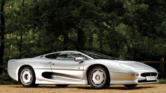 Jaguar xj220 cars wall wallpaper