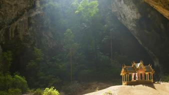 Landscapes cave thailand national park Wallpaper