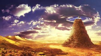 Landscapes fantasy art wallpaper