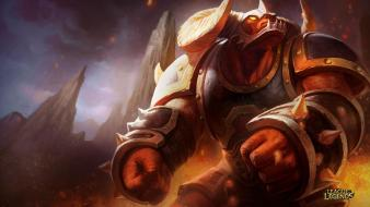 League of legends alistar infernal wallpaper