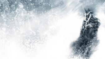 Lich king frozen gavade arthas blizzard entertainment Wallpaper