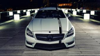 Mercedes-benz matte colored mercedes benz cls 63 wallpaper