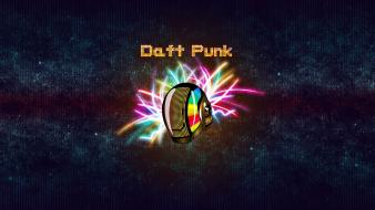 Minimalistic music daft punk helmets bands creative wallpaper