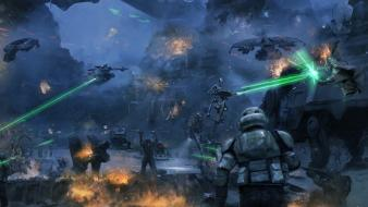 Movies futuristic battles science fiction artwork battlefront wallpaper