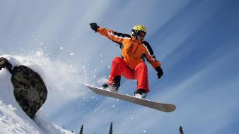 Nature skiing snow snowboarding wallpaper
