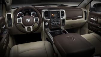 Pick-up trucks car interiors dodge ram 1500 wallpaper