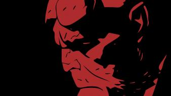 Red hellboy wallpaper