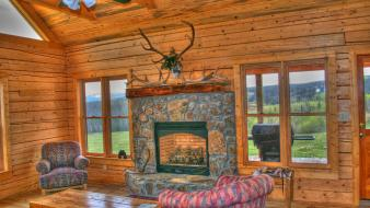 Room houses hdr photography elk hunting shot screens Wallpaper
