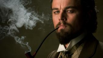 Smoke pipes leonardo dicaprio django unchained wallpaper
