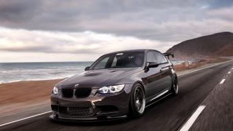 Tuning tuned black bmw m3 e92 sea wallpaper