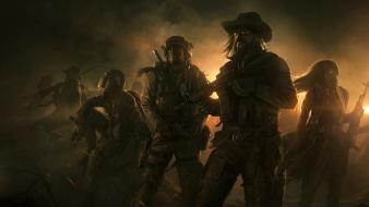 Video games guns andree wallin wasteland 2 wallpaper
