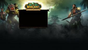 Video games world of warcraft mists pandaria Wallpaper