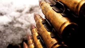 Ammunition bullets Wallpaper