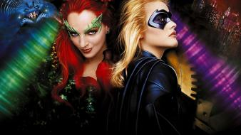 Batman movies uma thurman alicia silverstone wallpaper