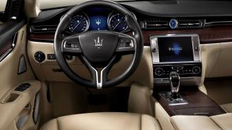 Cars dashboards maserati quattroporte wallpaper