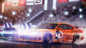 Cars drifting juiced 2 hot import nights wallpaper