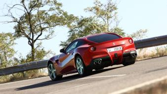 Cars ferrari roads red sports f12 berlinetta wallpaper