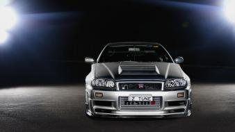 Cars nissan skyline gt-r r34 wallpaper