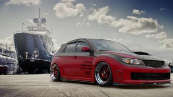 Cars ships wheels subaru impreza wrx sti wallpaper