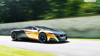 Cars top gear peugeot onyx wallpaper